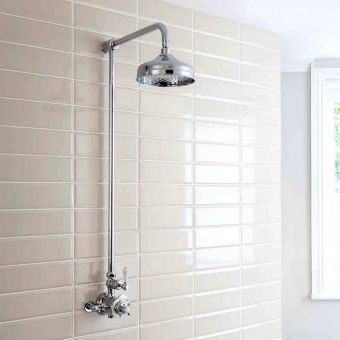 Crosswater Belgravia Exposed Shower Kit with Fixed Head