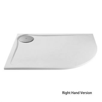 MX Optimum Quadrant Offset Shower Tray