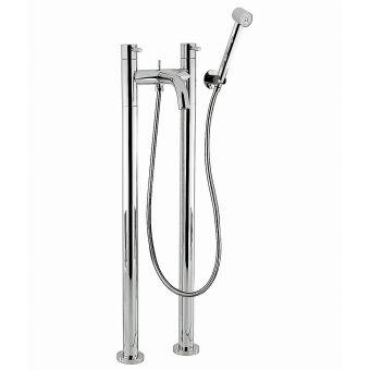 Crosswater Totti Freestanding Bath Filler with Shower Set