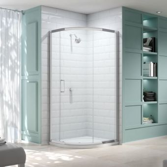 Merlyn Series 8 Single Door 900mm Quadrant Shower Enclosure