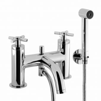 Crosswater Totti Bath Mixer Tap with Shower Kit