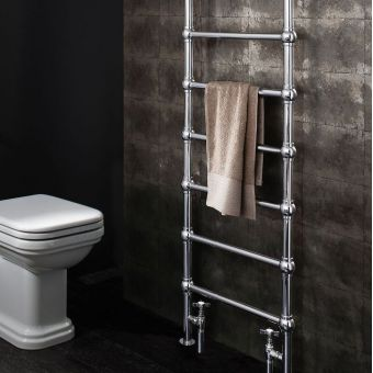 Crosswater Belle Traditional Towel Warmer