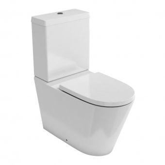 Britton Sphere Rimless Close Coupled Toilet