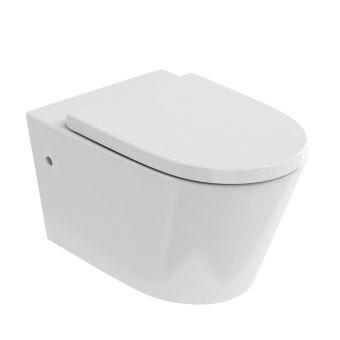 Britton Sphere Rimless Wall Hung Toilet - 15B27354