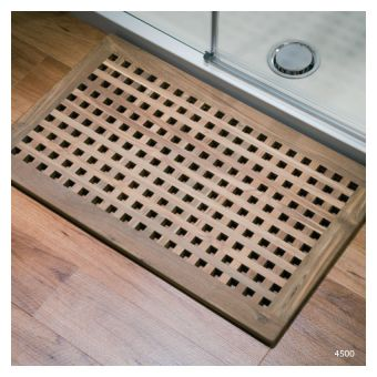 Matki Shower Tray with Teak Decking
