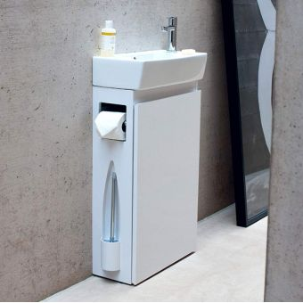 Britton ALLinONE Floorstanding Vanity Unit