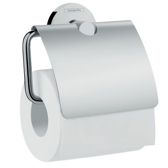 Hansgrohe Logis Universal Toilet Roll Holder with Cover - 41723000