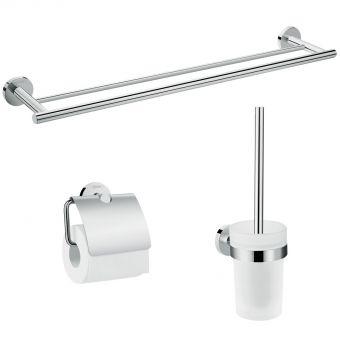 Hansgrohe Logis Universal Bath Accessory Basic Set 3 in 1 - 41727000