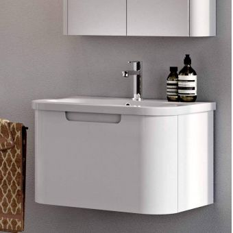 Britton Compact 1 Drawer Wall Hung Vanity Unit