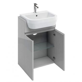 Britton  D30 Semi Recessed Basin Unit