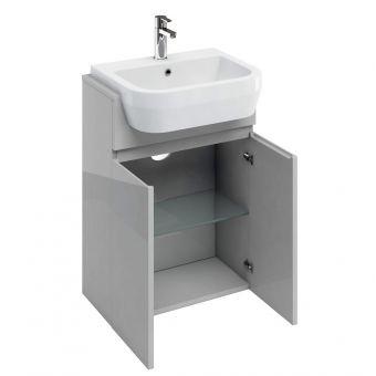 Britton  D30 Semi Recessed Basin Unit