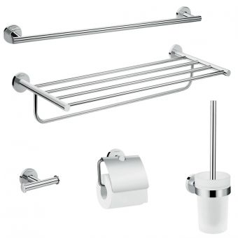 Hansgrohe Logis Universal Bath Accessory Set 5 in 1 - 41728000