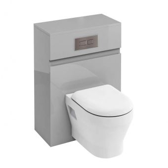 Britton D30 WC Unit with Flush Plate for Wall Hung Toilets