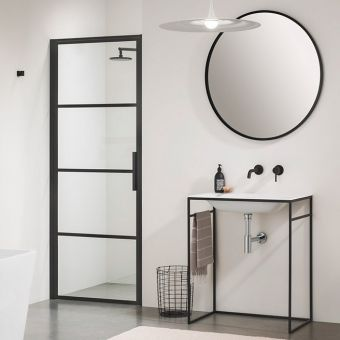 Impey Soho Pivot Door for Recess