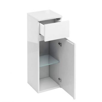 Britton D30 Single Door Base Unit with Drawer