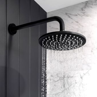 Crosswater MPRO Matt Black Shower Head