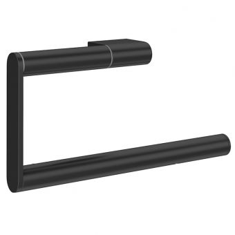 Crosswater MPRO Matt Black Towel Ring