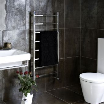 JIS Sussex Brunswick Square Heated Towel Rail Radiator