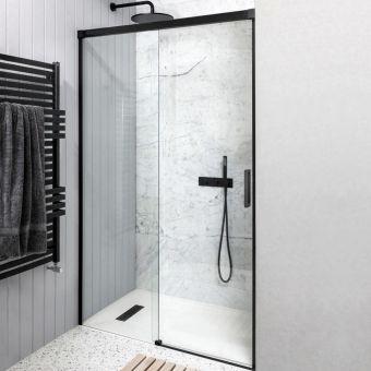 Crosswater MPRO Single Slider Shower Door