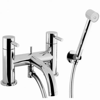 Crosswater Design Bath Mixer with Shower Kit