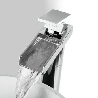 Crosswater Water Square Tall Basin Mixer Tap