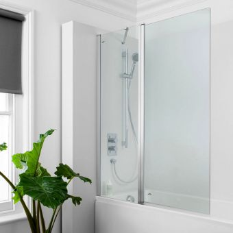 Crosswater Click Double Bath Screen