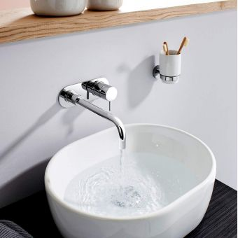 Crosswater Central Wall Mounted Basin Mixer Tap