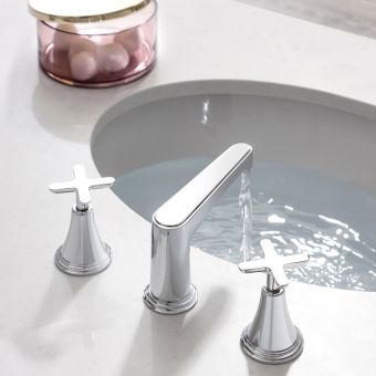 Crosswater Celeste 3 Hole Basin Mixer Set