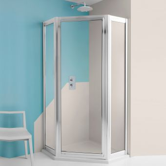 Crosswater Supreme Pentagon Shower Enclosure