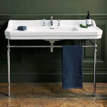 Burlington Edwardian 120cm Extra Large Basin Wash Stand - T51CHR