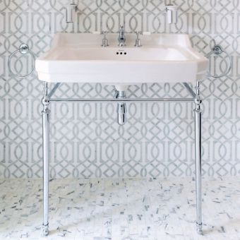 Burlington Edwardian 61cm Medium Basin Wash Stand