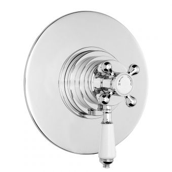 Bayswater Round Thermostatic Concealed Shower Valve