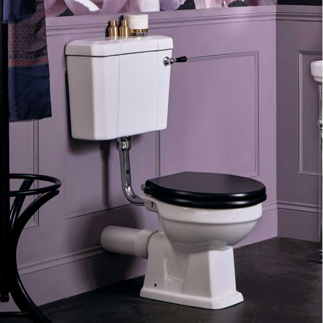 Bayswater Fitzroy Low Level Toilet with Ceramic Lever Flush