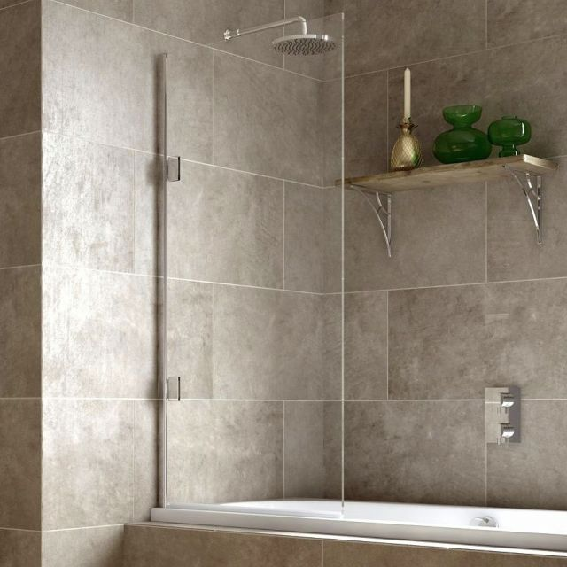Matki Eleganza Single Bath Screen 10mm
