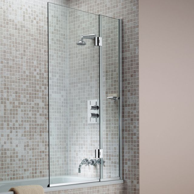 Matki Eleganza Hinged Bath Screen