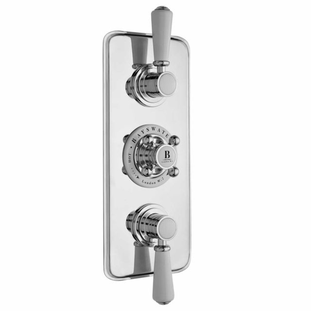 Bayswater Traditional Triple Concealed Shower Valve