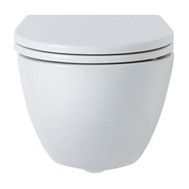 Ideal Standard White Round Wall Hung Toilet - E000501