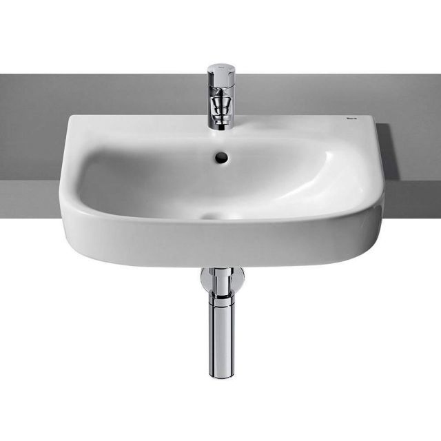 Roca Debba Semi-recessed Washbasin