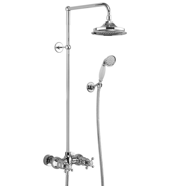 Burlington Eden Exposed Valve Shower Kit with Handset