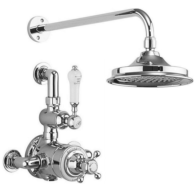 Burlington Avon Exposed Valve with Showerhead