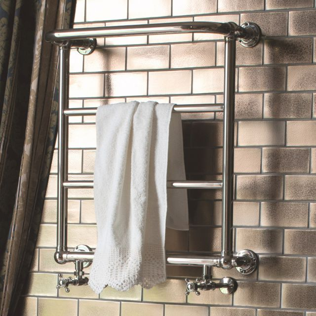 Arcade Babble Wall Mounted Traditional Towel Rail