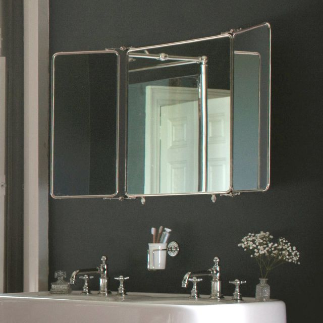 Arcade 3 Fold Large Bathroom Mirror