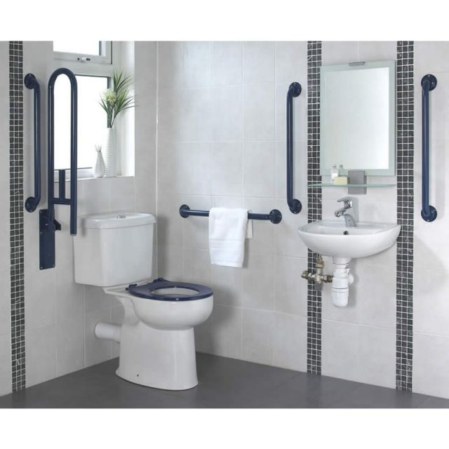 Origins Doc M Close Coupled Toilet and Basin Pack