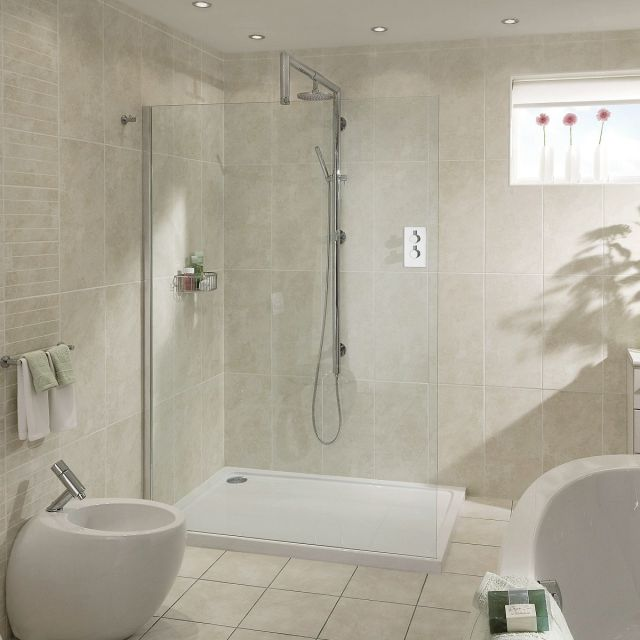 Aqata Spectra SP400 Walk-In Shower Screen