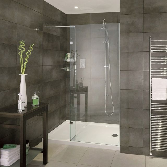 Aqata Spectra SP420 Walk In Shower Panel