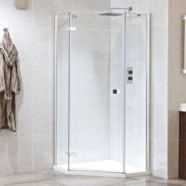 Phoenix Idyllic Neo Hinged Pentagonal Shower Enclosure