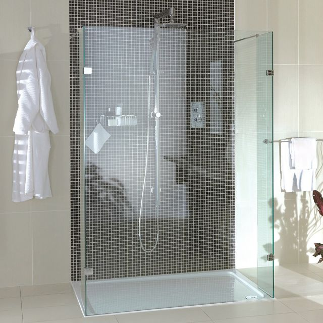 Aqata Spectra SP450 Twin Entry Shower Screen