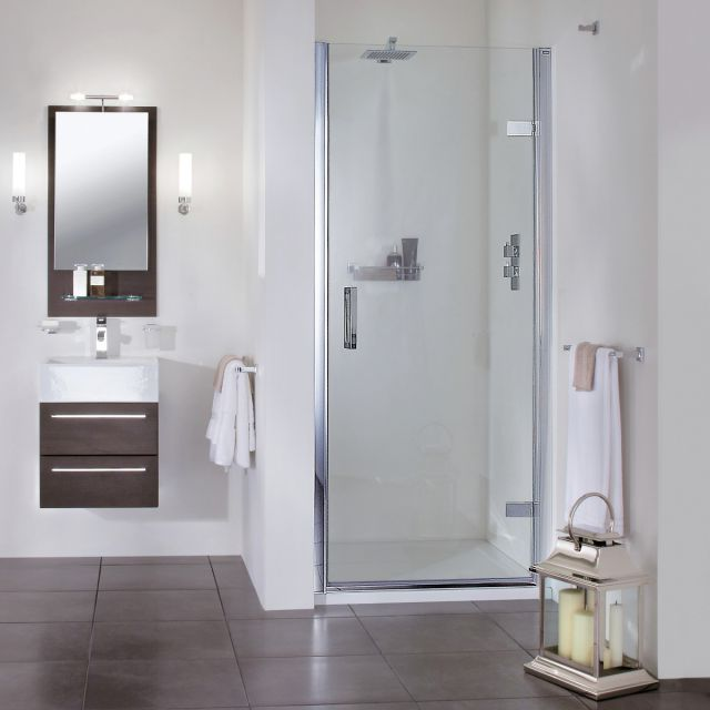 Aqata Spectra SP455 Hinged Shower Door