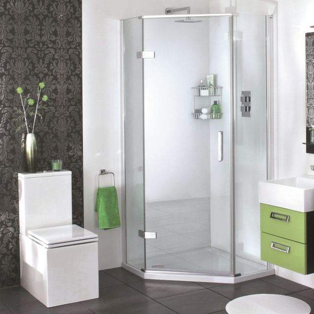 Aqata Spectra SP500 Quintet Pentagonal Shower Enclosure
