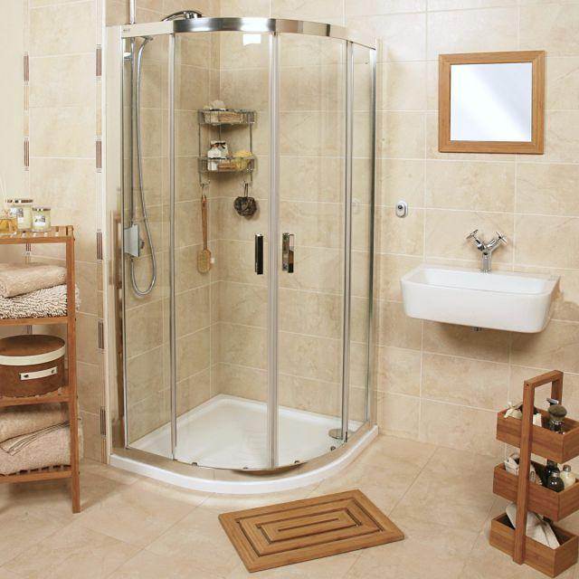 Roman Embrace Twin Door Quadrant Shower Enclosure